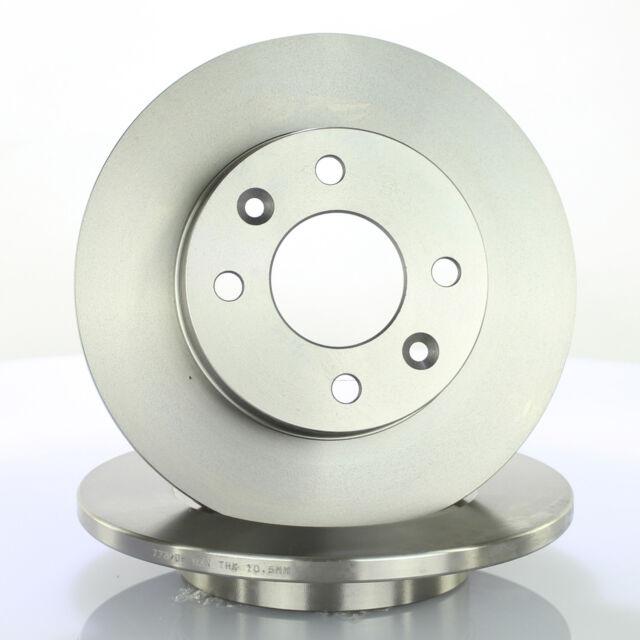 ATE 24.0112-0116.1 Bremsscheiben 2 Stück für RENAULT