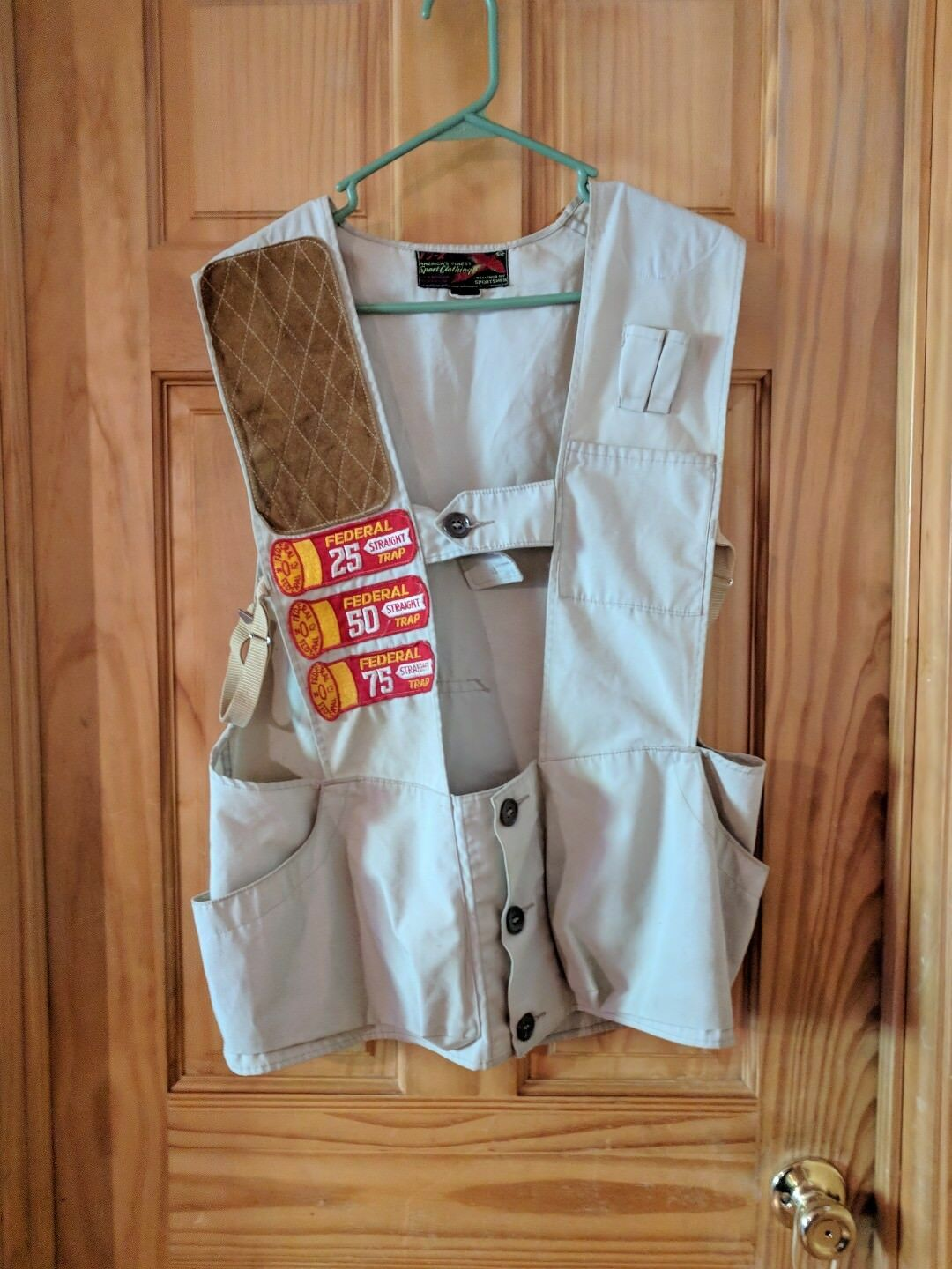 VTG Gun Club Right Pad Shooting Hunting Vest Skeet Trap Sporting Clays A-8