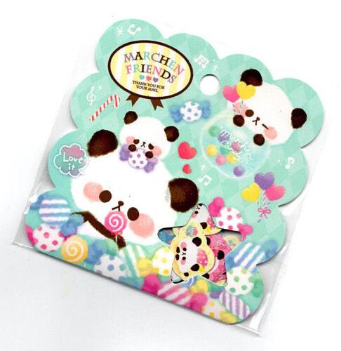 Q-lia Japan Kawaii Sticker Sack stickers flakes Marchen Friends Panda stationery