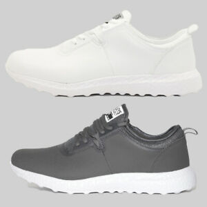 Mens-Henleys-Tech-HX350-Bounce-Trainers-Charcoal-or-White-FCF3-RRP-39-99