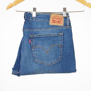 Levi-039-s-Boyfriend-Fit-Clueless-blau-Damen-Jeans-Groesse-27-W27