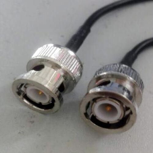 RG174 50ohm Bnc Macho A Bnc Macho Cable Coaxial de puente y video cámara de televisión closed-circuit 3m