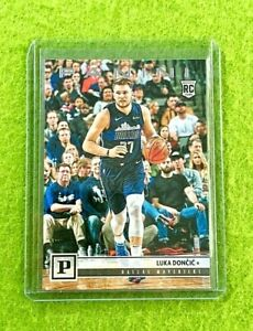 LUKA-DONCIC-ROOKIE-CARD-JERSEY-77-MAVERICKS-TRUE-RC-2018-19-Panini-CHRONICLES