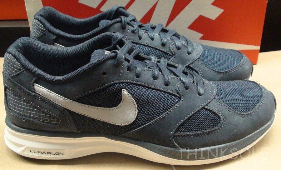 Nike Lunarspeed Mariah QS 700876-400 Size 10.5 Lunar Speed NikeLab Obsidian Run