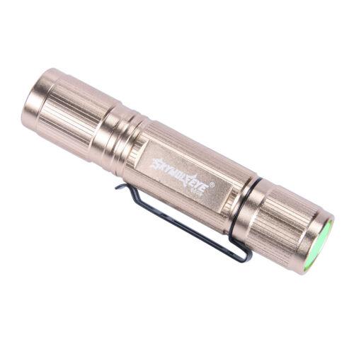 Tactical SkyWolfEye Mini LED T6 LED Flashlight 10000LM Camping Torch Light Lamp