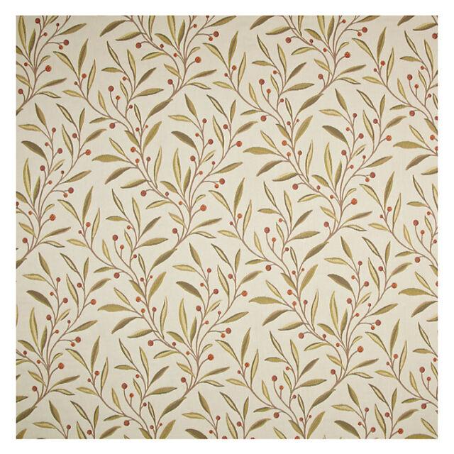 John Lewis Guelder Berry Furnishing Fabric, Red 1.30m