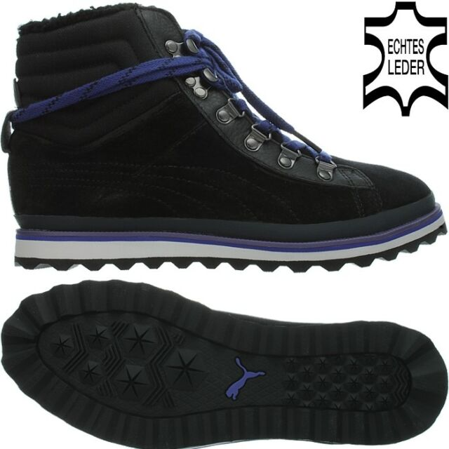 067cca1225b PUMA City Snow Boot s Women Leather Winter BOOTS Black UK 5 for sale ...