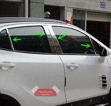 Stainless Steel Chrome Door Pillar Trim For Mokka Buick Encore 2013 14-16 2017