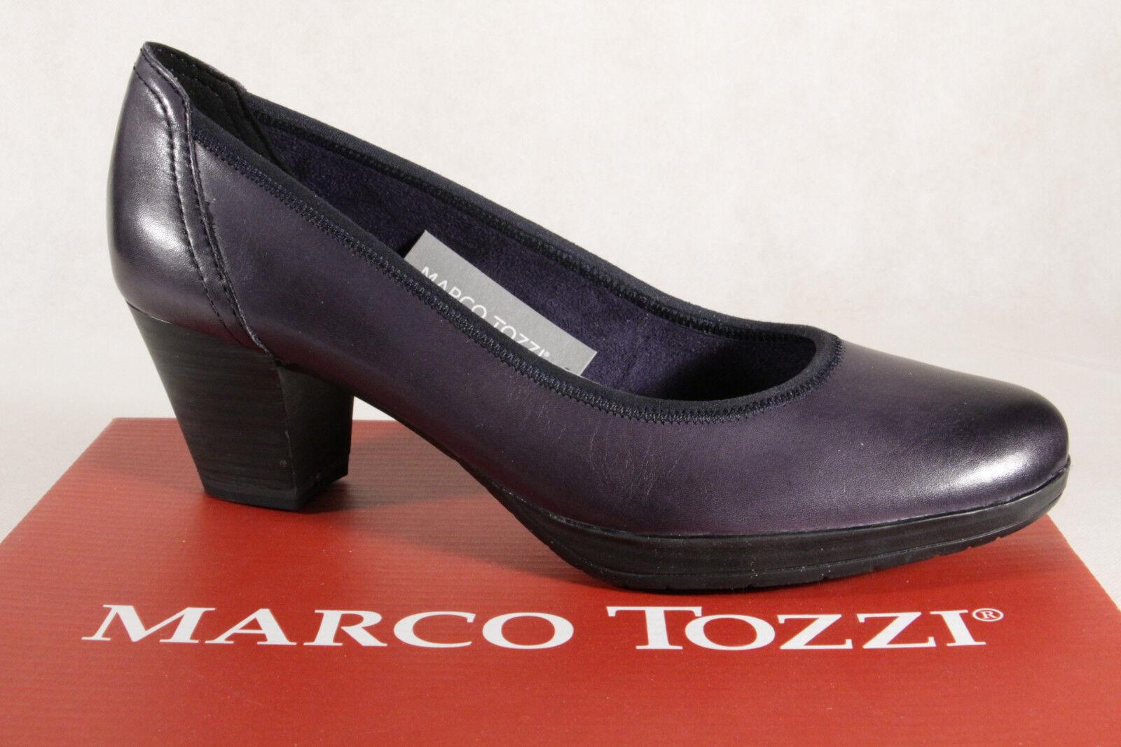 Marco Tozzi 22420 Escarpins Mocassins Bleu Antishokk Neuf
