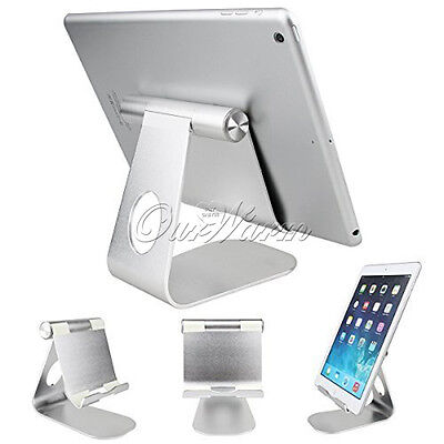 270 Degree Rotatable Stand For iPad Pro Tablet Aluminum Alloy Holder Case Desk