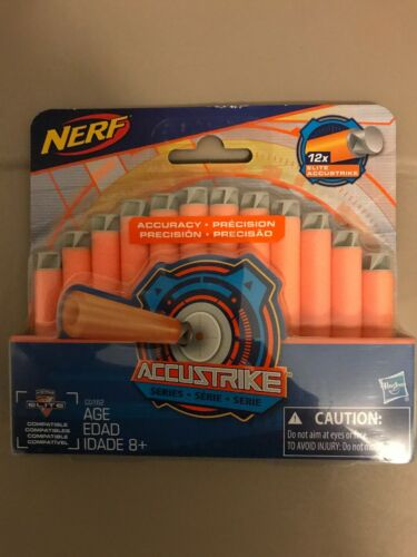 Nerf N-Strike Elite AccuStrike Series Soft Dart Game Toy Gift Refill 12pc