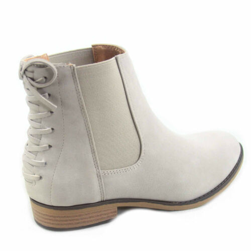 Women/'s Cowgirl Round Toe Low Heel Ankle Mid-Calf Boots Shoes  Size 5.5-10 New