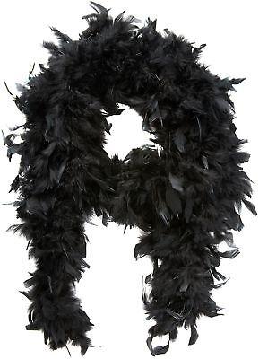 Boland 52601-feather Boa, Ca. 180 Cm, Nero-r Boa, Approx. 180cm, Black It-it Mostra Il Titolo Originale Evidente Effetto