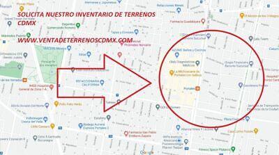 TERRENO EN VENTA COLONIA ALBERTO BENITO JUAREZ