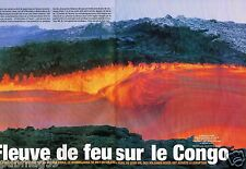 Coupure de Presse Clipping 2004 (6 pages) Congo Volcan eruption Nyamulagira