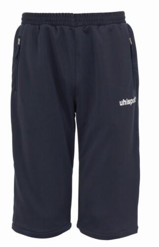 Uhlsport Kids Essential Sports Training Long Shorts with Zip Pockets Junior