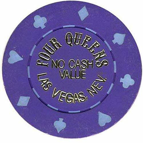 Details about  /Four Queens Casino Purple NCV Chip 1990s