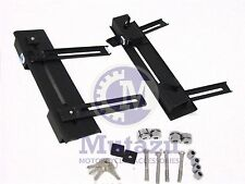 """""""Click On"""" Universal Hard Saddle bags detachable quick release mounting brackets"""
