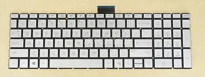 New for HP Envy X360 15-w158ca 15-w181nr 15-w113cl US Keyboard Backlit Silver