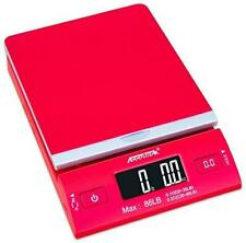 Accuteck Dreamred 86 Lbs Digital Postal Scale Shipping Scale Postage With Usbampac