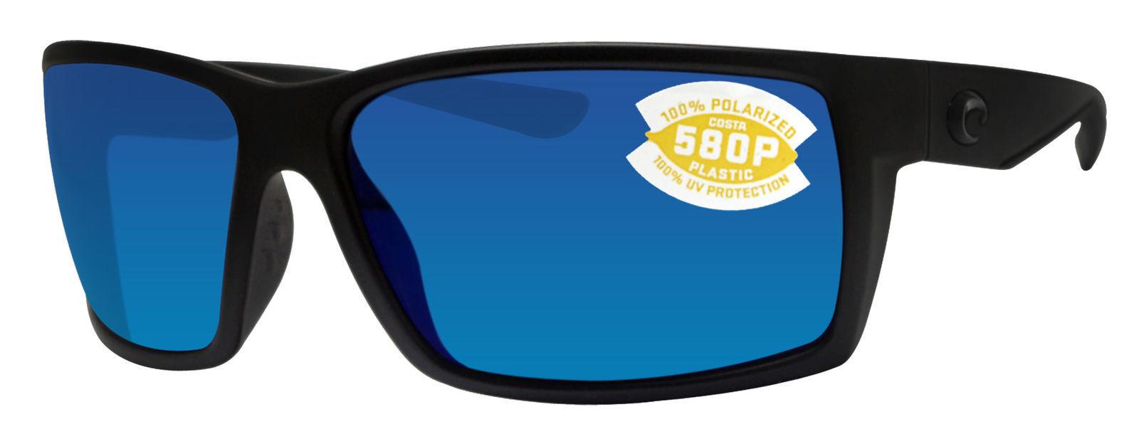 e7b56cc8154 Costa Del Mar Sunglasses - Polarized Reefton Blackout Blue Mirror ...