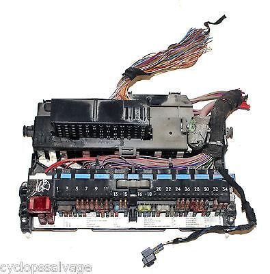 bmw oem e46 e83 x3 fuse relay box behind glove box m3 330 328 325 323 relays  | ebay  ebay