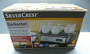 16303-Eierkocher-mit-Warmhaltefunktion-Silvercrest-400-W-fuer-6-Eier