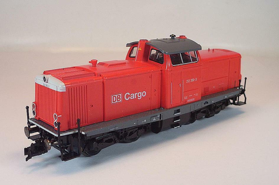 Fleischmannn h0 4215 diesellok br 212 350-3 de la DB Cochego 2 = KK nem OVP  9010