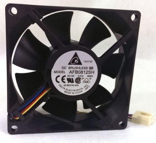 3Pin Delta AFB0812SH-F00 80mm x 80mm x 25mm Fan