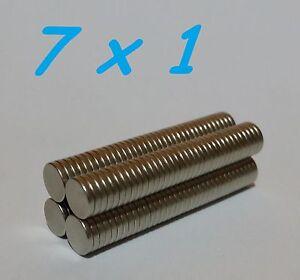 70-MAGNETI-NEODIMIO-7X1-MM-CALAMITA-POTENTE-FIMO-CERAMICA-MAGNETE-CALAMITE