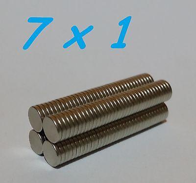 30 MAGNETI NEODIMIO 8X2 MM CALAMITA POTENTE FIMO CERAMICA MAGNETE CALAMITE
