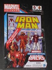 MARVEL UNIVERSE IRON MAN VS. MANDARIN FIGURE COMIC PACK AVENGERS NEW 2012