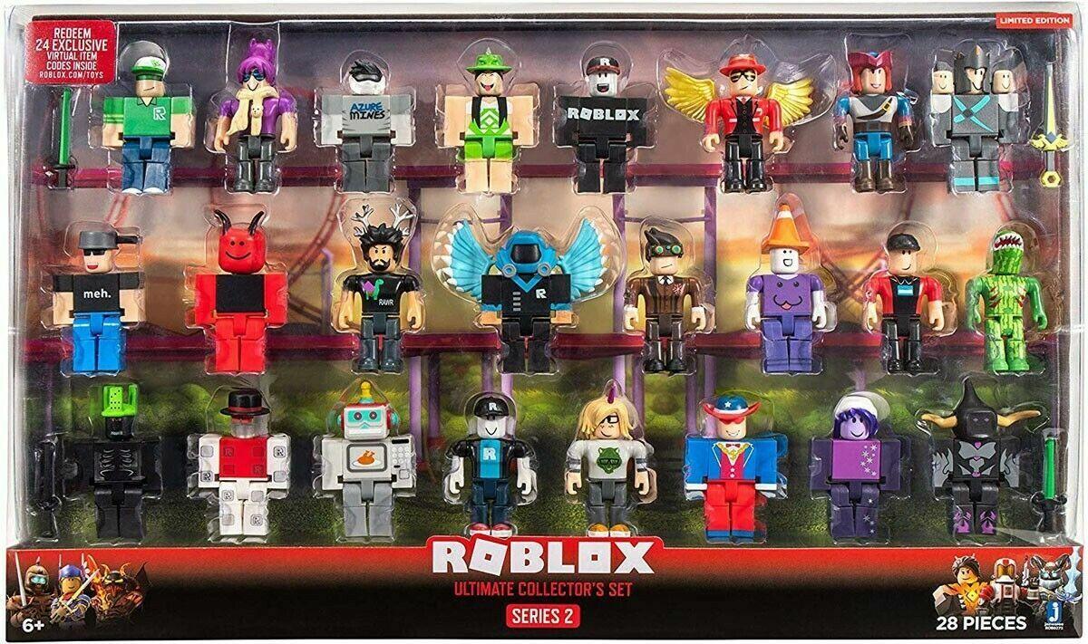 ROBLOX serie 2 Ultimate Collector's Set 24 figuras con Códigos Sin Usar Nuevo en Caja