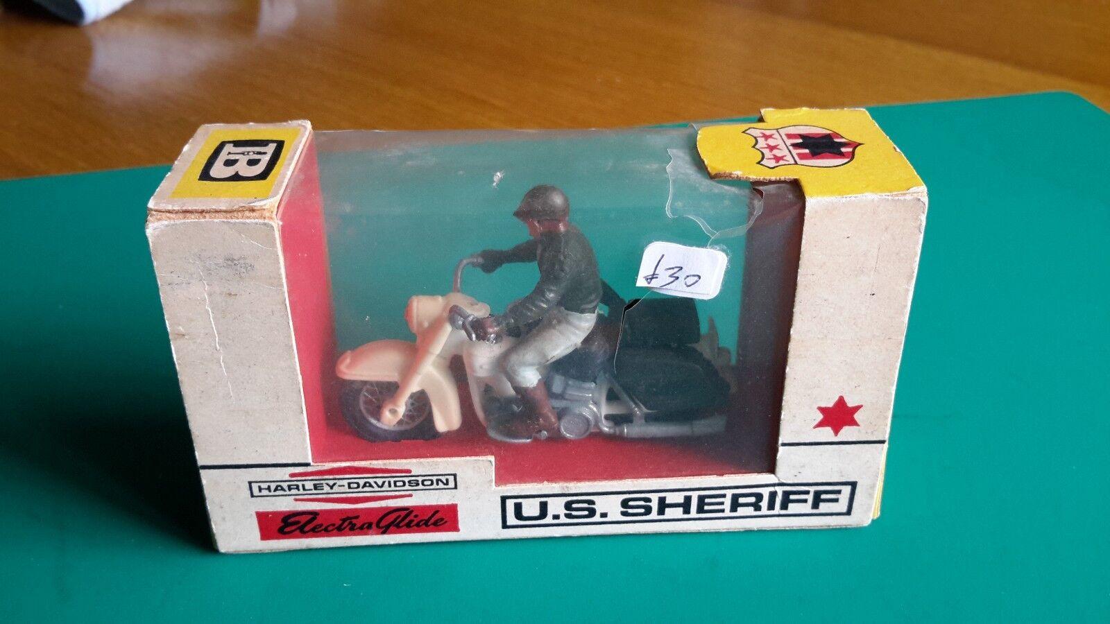 BRITAINS  9692 US SHERIFF moto-Boîte d'origine-Lot 1