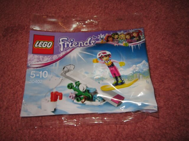 NEW//SEALED LEGO FRIENDS SNOWBOARD 30402