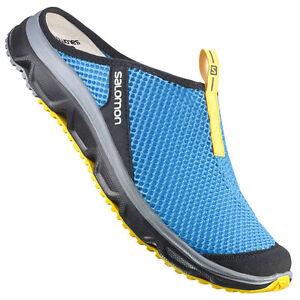 Details about Salomon RX Slide 3.0 Herren Clogs 371297 Methyl Blue Blau Schlappen Slipper