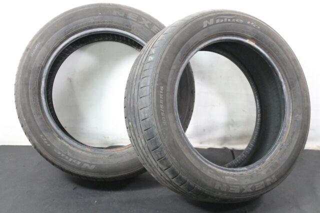 2x 205/55 r16 91 V pneus d'été NEXEN N Blue HD Dot: 1015 Profil: 3,88 mm 36