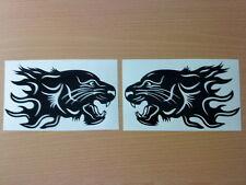 tiger wing mirror kit x2 ,motorbike helmet ,vinyl stickers peugeot vw ford mg tt