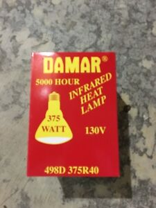 Incandescent Reflector Lamp Damar Lighting 375r40 Ebay