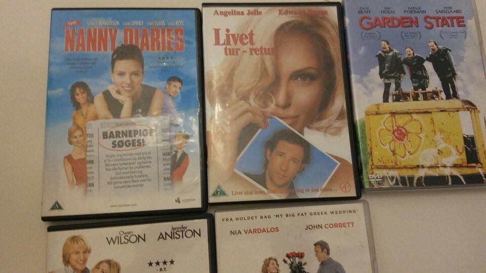 Komedier, DVD, komedie
