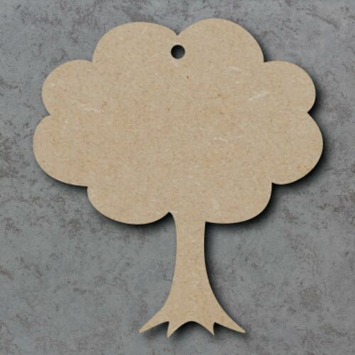Large MDF Tree Craft Wooden Shape Blank Wood 20,30 40cm Unpainted