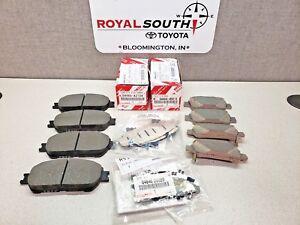Toyota Highlander Front Brake Pads Set Genuine OEM OE