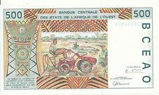 West African St. / Guinea-Bissau - 500 Francs 1998 aUNC - Pick 910Sc