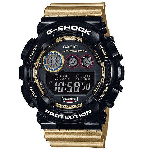 d003ce214aad Casio Sport Digital Mens G Shock Gold Watch Gd-120cs-1d