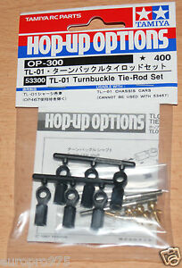 TAMIYA-53300-TL-01-Tendeur-Tie-Rod-Set-TL01-Stadium-radier-Neuf-sous-emballage