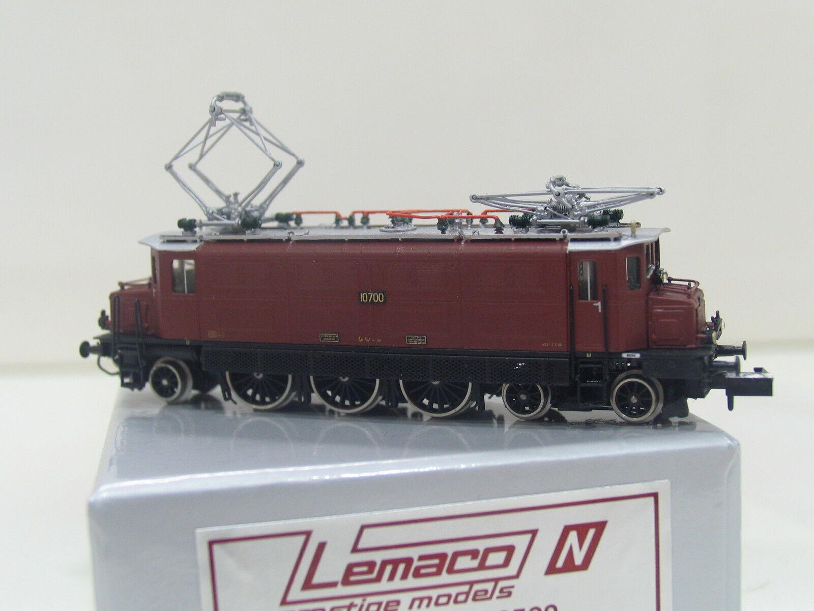 LEMACO SPUR N No.023 E-LOK Ae 3 6  10007  BRAUN der SBB SL349