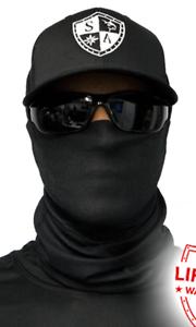 79294a31584 SA BLACK TACTICAL Face Shield Balaclava Head band Beanie Bandana do ...