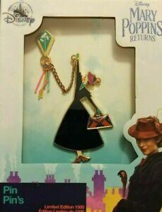 Disney-Pins-Mary-Poppins-Returns-LTD-Edition-1500-Jumbo-Pin-Presentation-Boxed