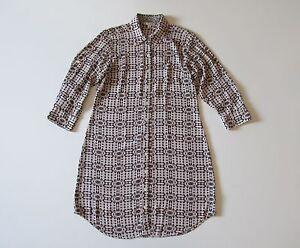d37852d6c CAbi 784 Colony Club Geometric Print Poly Crepe Button Down Shirt ...
