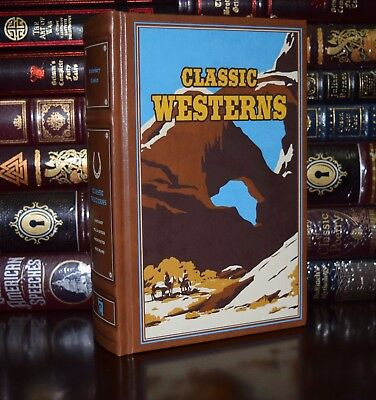 Classic Westerns by Zane Grey Brand New Soft Leather Feel Collectible Gift Ed.